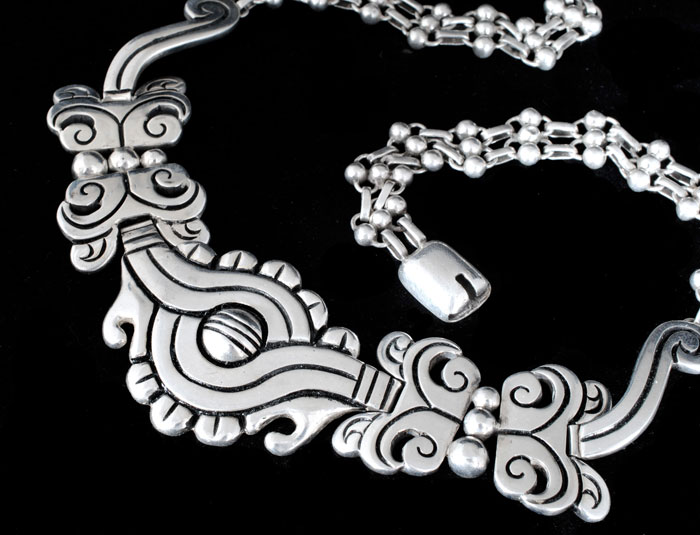 Collier mexique argent sterling
